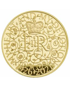 2021 1kg Great Britain The 95th Birthday of Her Majesty The Queen .999 Gold Proof Coin
