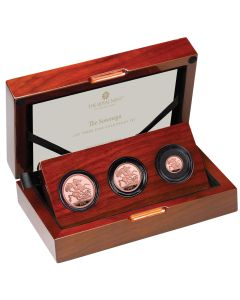 2021 13.97 gram Great Britain The Sovereign .9167 Three Coin Set
