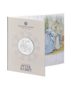 2021 28.28g  Great Britain Beatrix Potter  - The Tale Of Peter Rabbit Cupro-Nickel Coin