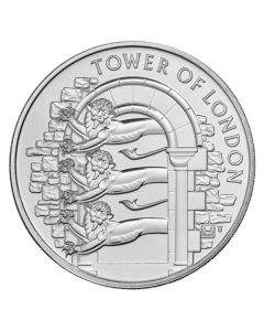 2020 28.28 gram Great Britain The Tower of London - The Royal Menagerie Cupro-nickel Coin BU