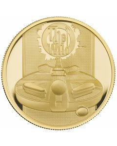 2021 1oz Great Britain Music Legends -The Who .9999 Gold Proof Coin