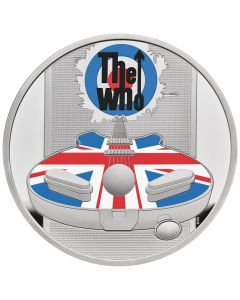 2021 1oz Great Britain Music Legends -The Who .999 Silver Proof Coin
