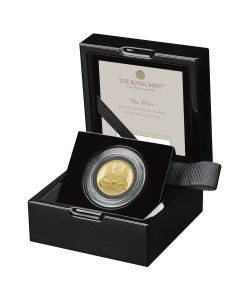 2021 1/4 oz Great Britain Music Legends -The Who .9999 Gold Proof Coin