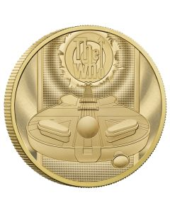 2021 2oz Great Britain Music Legends-The Who .9999 Gold Proof Coin
