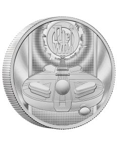 2021 2oz Great Britain Music Legends-The Who .999 Silver Proof  Coin