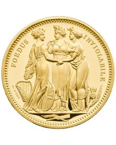 2021 10oz Great Britain The Great Engravers Collection - Three Graces .999 Gold Proof Coin (LPM Exclusive)