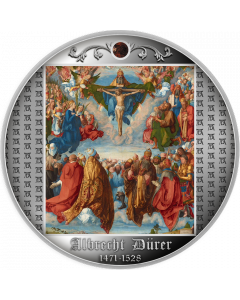 2021 17.5g Cameroon Adoration of the Trinity 999 Silver Proof Coin