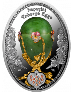 2020 16.81g Niue Pancy Egg .999 Silver Proof Coin