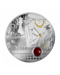 2021 1oz Cameroon Success In Your Hands Ruby Edition 999 Silver Proof Coin