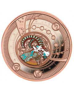 2021 10g Cameroon Zodiac Sign - Capricorn 999 Silver Proof Coin