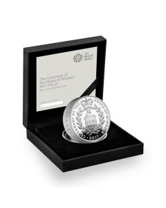 2017 56.56g Britain House of Windsor Centenary .925 Silver Proof Piedfort Coin