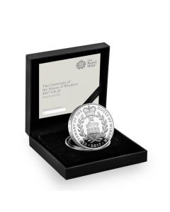 2017 28.28 gram Britain House of Windsor Centenary .925 Silver Proof Coin (Frosted)