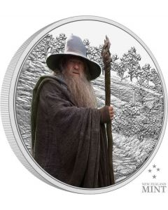 2021 1oz Niue The Lord Of The Rings Classic Series - Gandalf the Grey .999 Silver Proof Coin