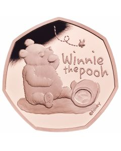 2020 15.5 gram Great Britain Winnie The Pooh .9167 Gold Proof Coin