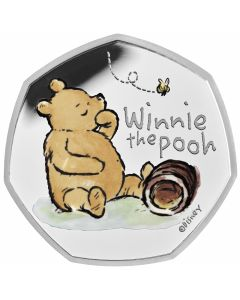 2020 8 gram Great Britain Winnie The Pooh .925 Silver Proof Coin
