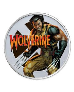 2020 1oz Fiji Marvel - Wolverine .999 Silver Proof Coin
