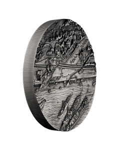 2019 1 kg Canada D-Day: A Snapshot in Time 9999 Silver Ultra High Relief Silver Coin