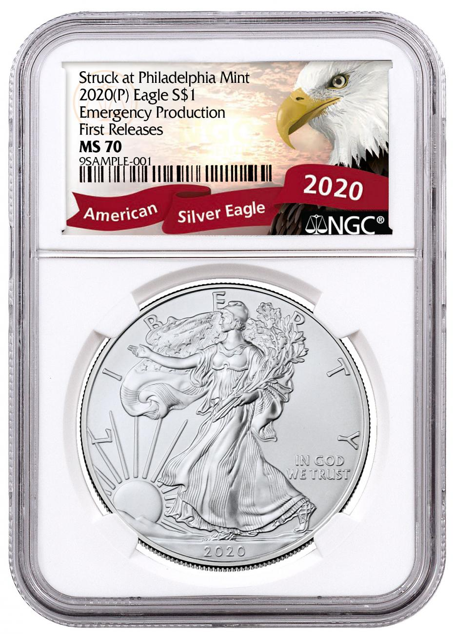 Emergency Production (P) Silver Eagles