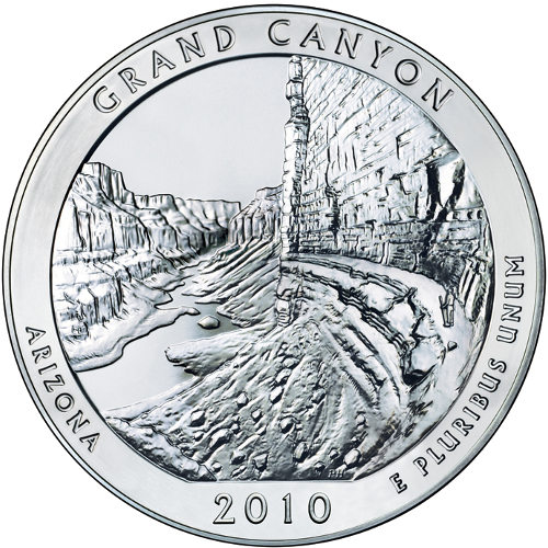 2010 5 Oz America America The Beautiful Arizona The