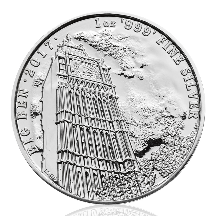 2017 1 Oz Great Britain Landmark Of Britain Big Ben 999