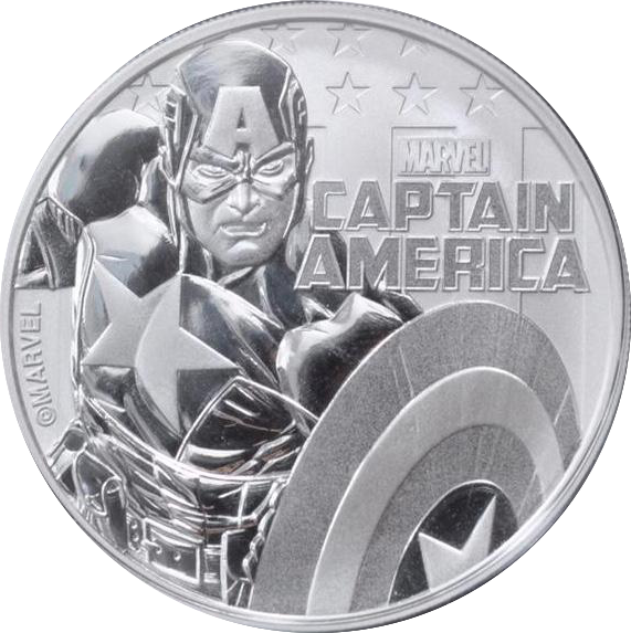 Marvel Silver Coin Series