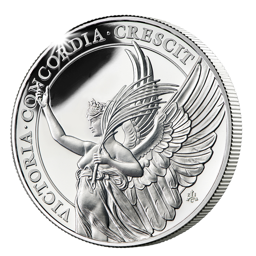 The Queen's Virtues - Victory Silver Gilded Proof Coin