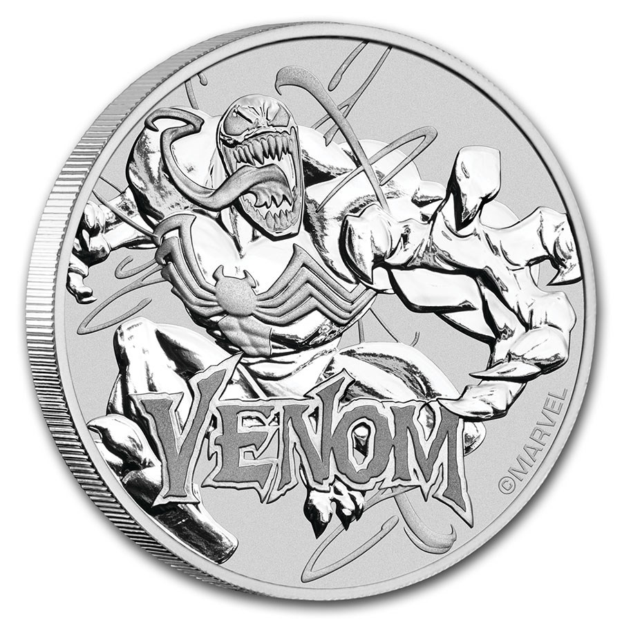 Marvel silver coin series (In Card)