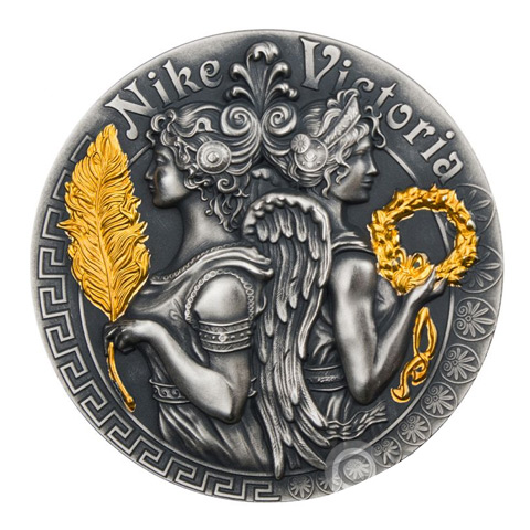 Victoria And Nike Strong And Beautiful Goddesses 2 Oz